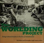 Cover of: The worlding project
