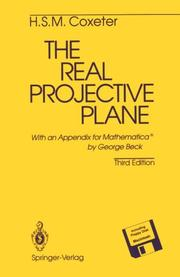 Cover of: The real projective plane