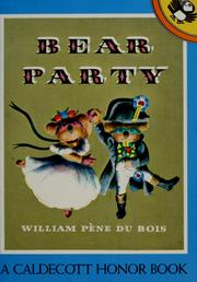 Cover of: Bear party