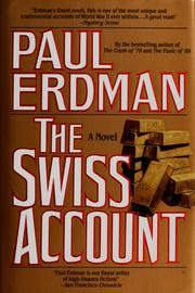 Cover of: The Swiss Account
