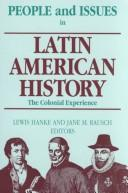 Cover of: People and issues in Latin American history
