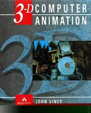 Cover of: 3-D computer animation