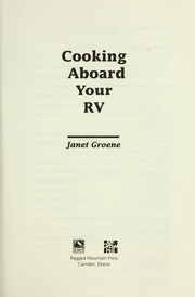 Cover of: Cooking Aboard Your RV