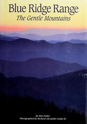 Cover of: Blue Ridge range: the gentle mountains