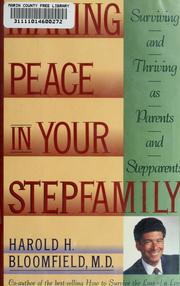 Cover of: Making Peace in Your Stepfamily