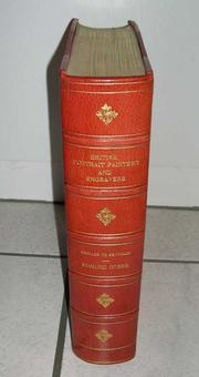 Cover of: British portrait painters and engravers of the eighteenth century