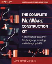 Cover of: The complete NetWare construction kit