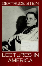 Cover of: Lectures in America