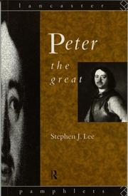 Cover of: Peter the Great