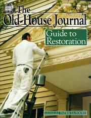 Cover of: The Old-house journal guide to restoration