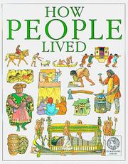 Cover of: How people lived