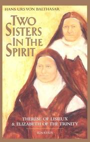 Cover of: Two sisters in the spirit