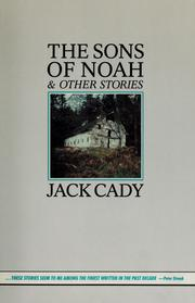 Cover of: The sons of Noah & other stories