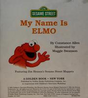 Cover of: My Name Is Elmo
