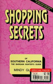 Cover of: Shopping Secrets of Southern California