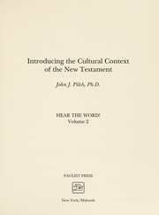 Cover of: Introducing the cultural context of the New Testament