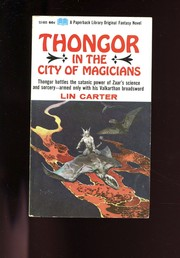 Cover of: Thongor in the city of magicians