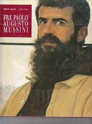 Cover of: Fra' Paolo Augusto Mussini