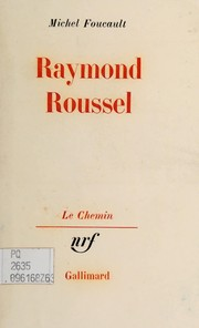 Cover of: Raymond Roussel