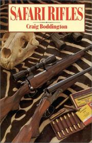 Cover of: Safari rifles