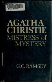 Cover of: Agatha Christie
