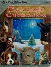 Cover of: The animals' Christmas eve