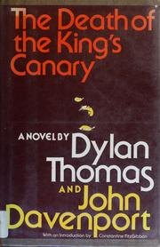 Cover of: The death of the king's canary