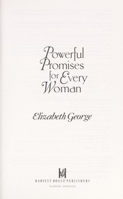 Cover of: Powerful Promises for Every Woman: 12 Life-Changing Truths from Psalm 23