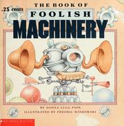 Cover of: The book of foolish machinery