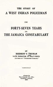 Cover of: The Story of a West Indian Policeman