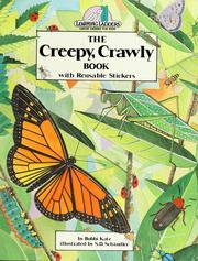 Cover of: The Creepy, Crawly Book: With Reusable Stickers (Learning Ladders/Green Ladder Book)