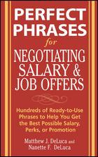 Cover of: Perfect phrases for negotiating salary and job offers