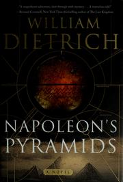 Cover of: Napoleon's pyramids: a novel