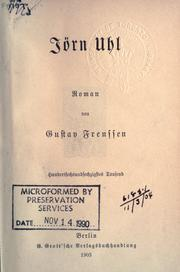 Cover of: Jörn Uhl