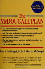 Cover of: The McDougall plan