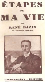Cover of: Étapes de ma vie