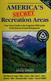 Cover of: America's secret recreation areas