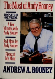Cover of: The most of Andy Rooney