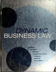 Cover of: Dynamic Business Law