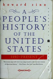 Cover of: A People's History of the United States
