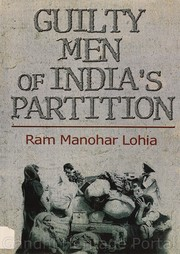Cover of: Guilty men of India's partition