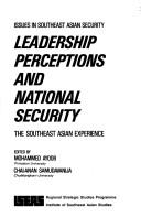 Cover of: Leadership Perceptions and National Security