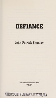 Cover of: Defiance