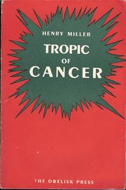 Cover of: Tropic of Cancer