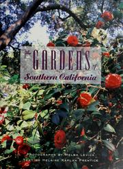 Cover of: The gardens of southern California