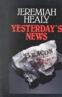 Cover of: Yesterday's news: a novel of suspense