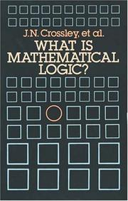 Cover of: What is mathematical logic?