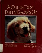 Cover of: A guide dog puppy grows up