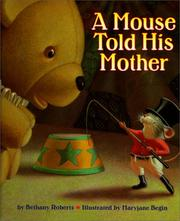 Cover of: A mouse told his mother