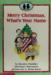 Cover of: Merry Christmas, what's your name?